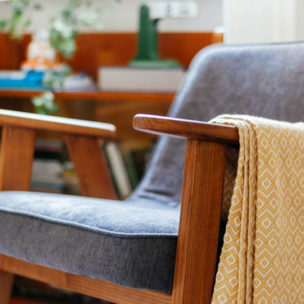 The perfect mid-century armchair for small rooms