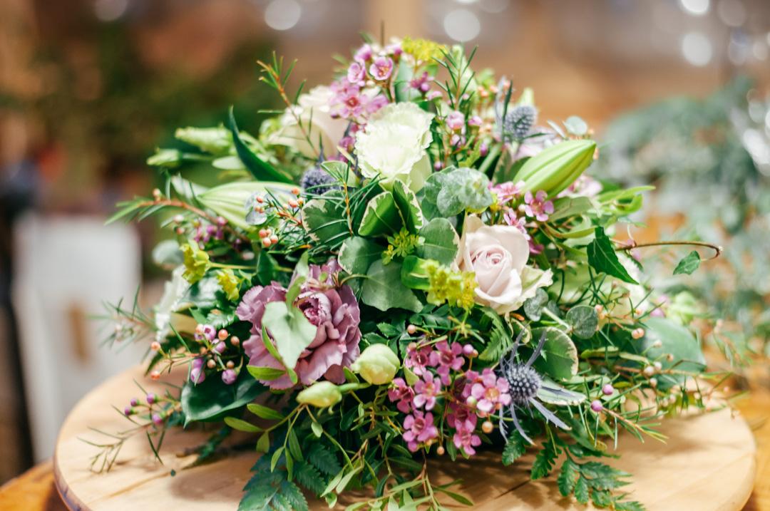 How To Make A Lush Posy Table Arrangement Like Florist Final