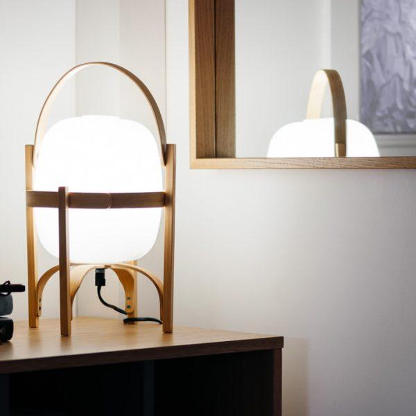 cestita lamp spanish midcentury modern design lighting boreal abode