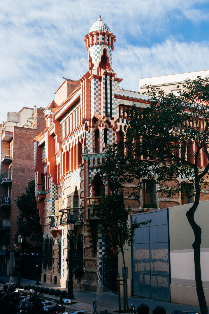 Gaudí's Casa Vicens: complete architecture and interior guide exterior 1