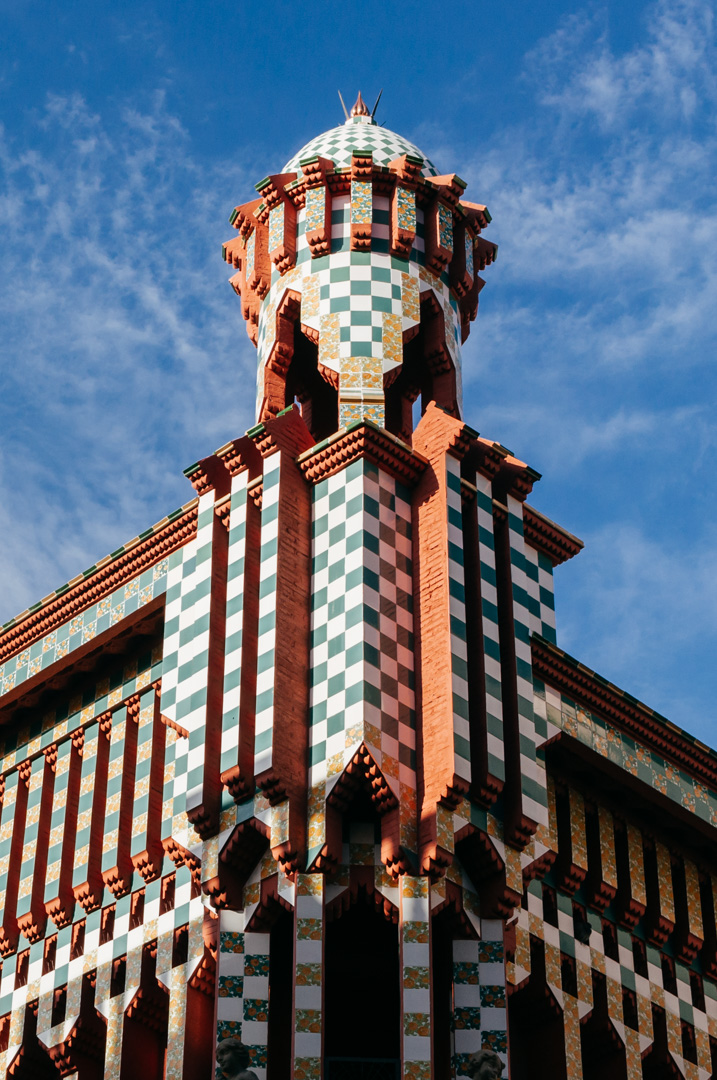Gaudí's Casa Vicens: complete architecture and interior guide exterior 2