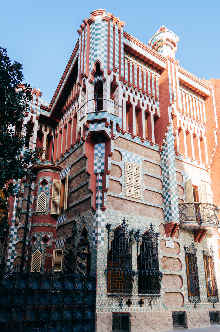 Gaudí's Casa Vicens: complete architecture and interior guide exterior 3