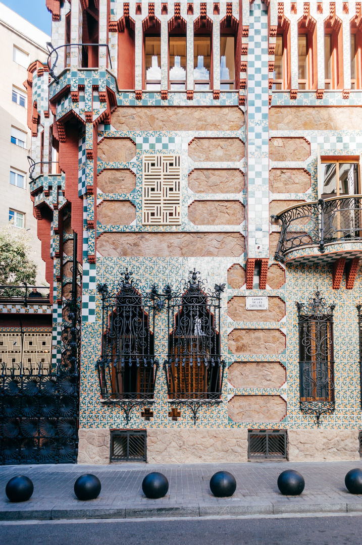 Gaudí's Casa Vicens: complete architecture and interior guide exterior 4