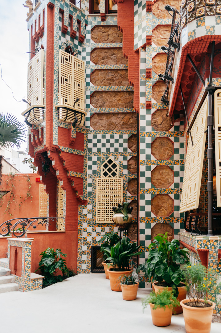 Gaudí's Casa Vicens: complete architecture and interior guide exterior 8