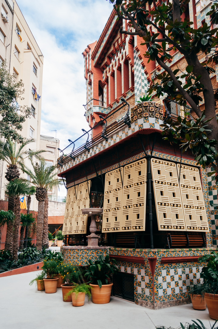 Gaudí's Casa Vicens: complete architecture and interior guide exterior 9